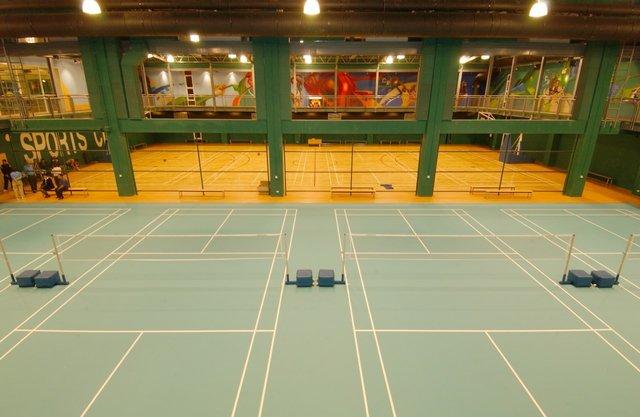 สนามแบดมินตัน - สปอร์ตซิตี้ Sports City