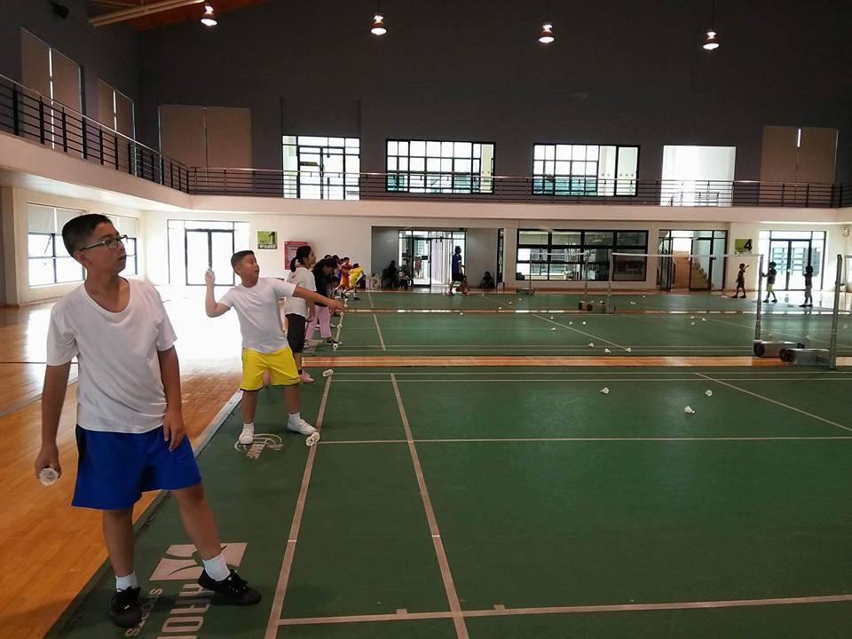 สนามแบดมินตัน - ศูนย์กีฬาเฉลิมพระเกียรติ (บางมด)