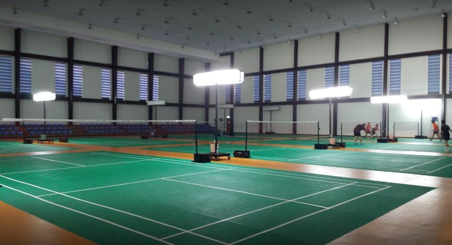 สนามแบดมินตัน - สนามกีฬาราเมศวร ลพบุรี